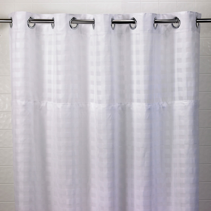 Basketweave Hookless 174 Shower Curtain Doubletree At Home